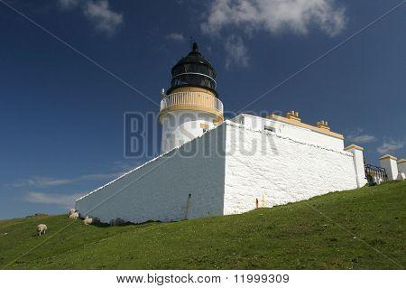 Lighthouse at Stoer, Scotland