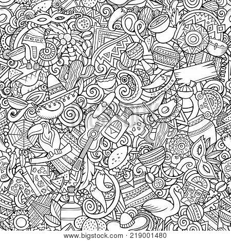 Cartoon Cute Doodles Vector Photo Free Trial Bigstock