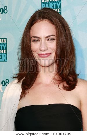 SANTA MONICA - JULY 14: Maggie Siff at the Fox TCA Summer Party in Santa Monica, California on July 14, 2008.