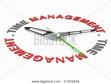 time management project planning with a daily schedule to increase efficiency and productivity. Organize your tasks set goals and don't waste time.