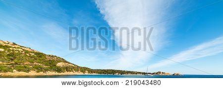 Spalmatore cove in La Maddalena island Sardinia