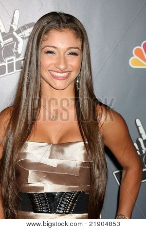 """LOS ANGELES - JUN 29:  Raquel Castro arriving at the Wrap Party for The """"Voice"""" at Avalon on June 29, 2011 in Los Angeles, CA"""