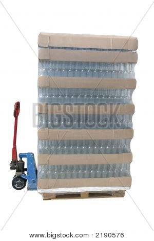 Jack With A Pallet