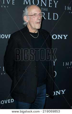 LOS ANGELES - DEC 18:  Christopher Lloyd at the
