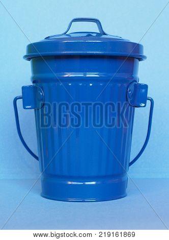 Blue Litter Bin