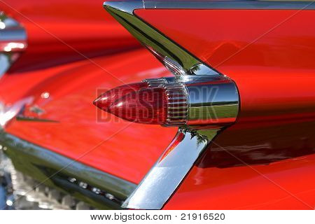 Tail light and fin