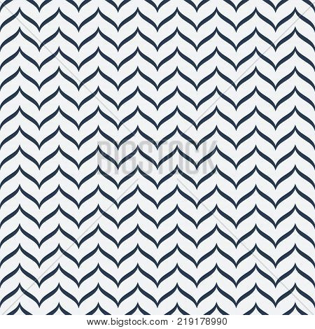 Seamless pattern with waves. Stock vector pattern