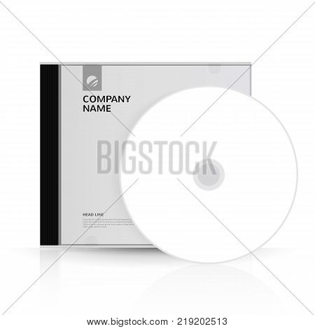Template for DVD Box and DVD-disc for corporate identity