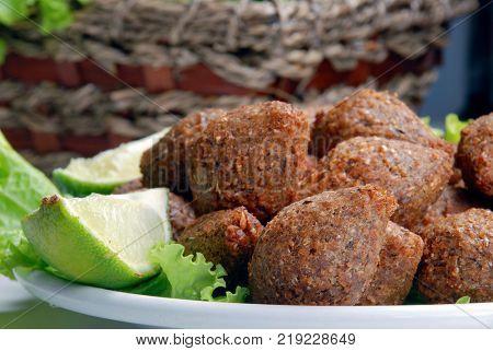 delicious Lebanese kibbe