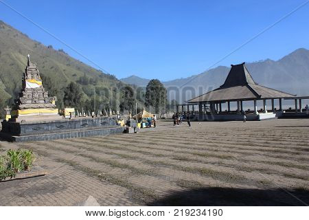Luhur Poten Temple In Bromo Temple , Indonesia
