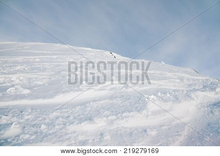 Southerly slope of the hill on north caucasus