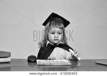 Little Boy Child Student