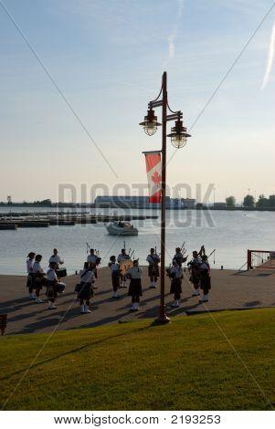 Scottish Band In Canada