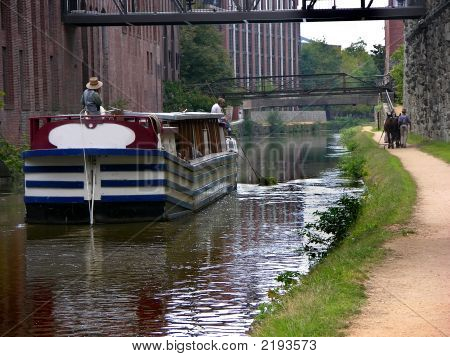 Canal Boat C&O Canal Georgetown Washington Dc