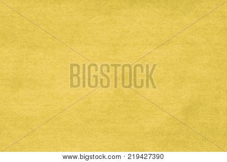 abstract yellow felt background, yellow velvet background