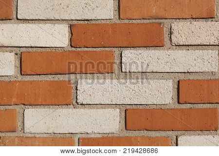Bricks in the city of Bordeaux Aquitaine France