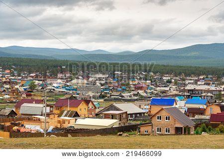 Khuzhir Village On Olkhon Island, Siberia, Russia