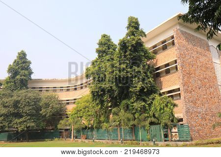 New Delhi India - October 28, 2017: National Academy Of Art. National Academy Of Art  Was Establishe
