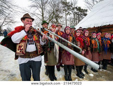 Uzhgorod Ukraine - January 15 2017: