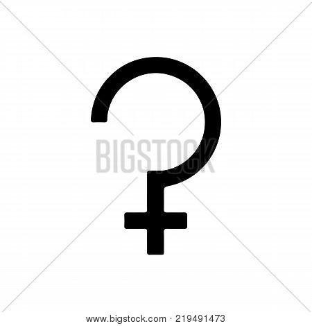 Astrology symbol Ceres. Icon, symbol. Vector Illustration.