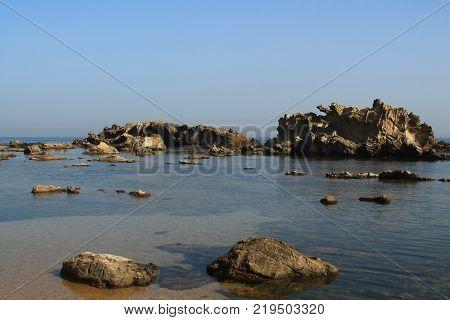Surcouf, beach on the Algerian coast, Algiers