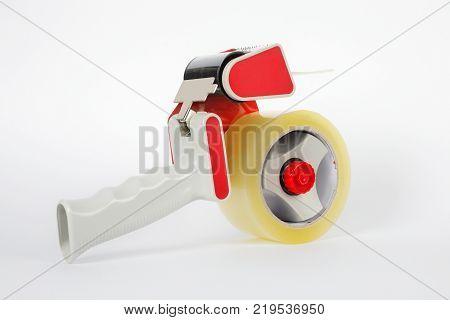 Stationery - Professional tape dispenseron a white background.