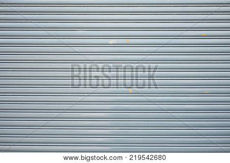 Aluminium Steel Metal Roller Shutter Door Background