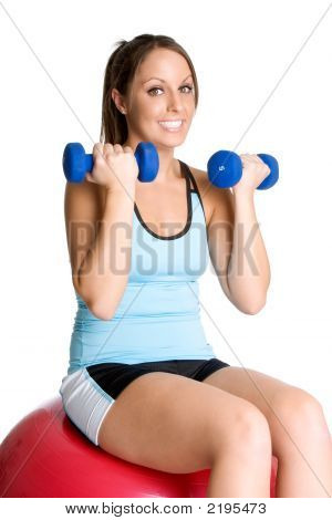 Cvičení žena