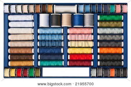 Sewing thread box