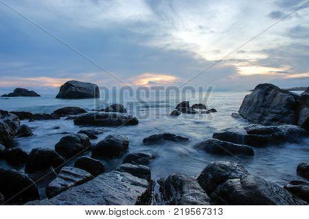 Kanyakumari beach, Kanyakumari, beach, Sunset, Kerala, India