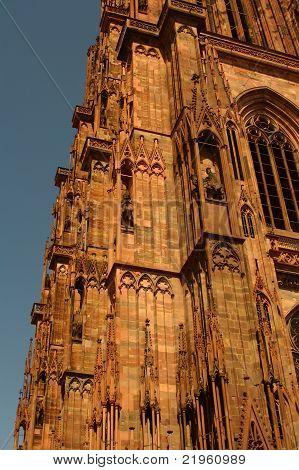 Cathédrale Notre-dame De Strasbourg, France