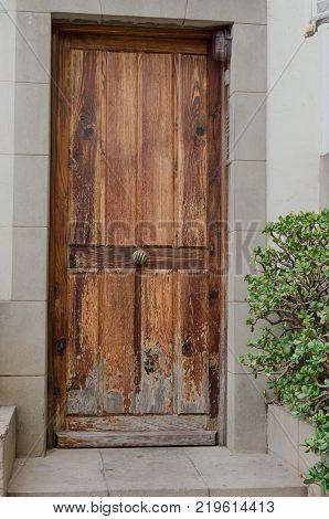 Antic Door Background