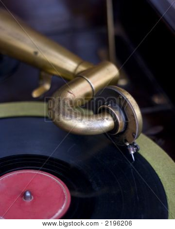 Talking Machine And Record
