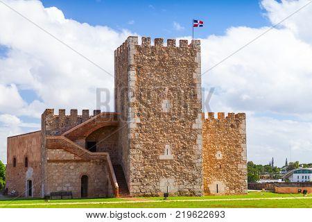 Ozama Fortress sixteenth-century castle in Santo Domingo Dominican Republic