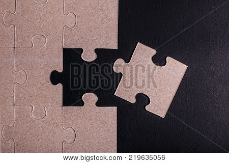 Puzzles without color as a concept. Join Us. A picture can be used to hire a person in a creative team.