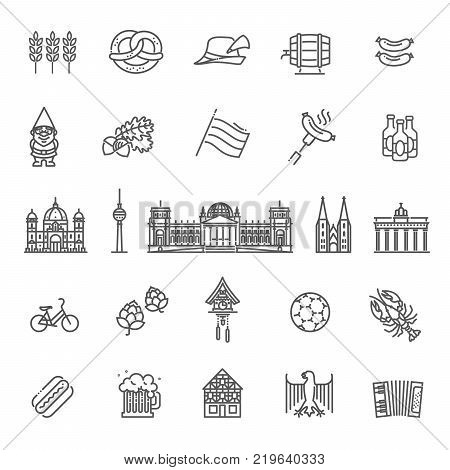 German Culture Icons, Culture Signs of Germany, Traditions of Germany, German Life, National Objects of Germany