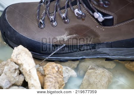 Waterproof Shoes Test Detai