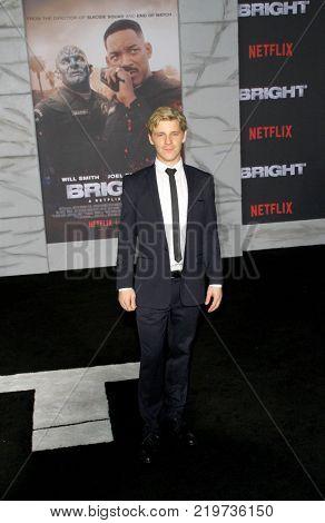 Daniel Webber attends the Netflix