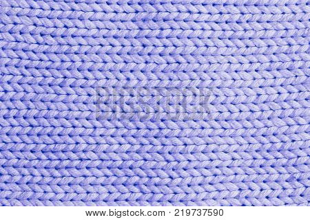 lilac vertical line knitting fabric texture background or knitted pattern background for design. Knitting or knitted. Knitting pattern or knitted pattern for design. Small lilac knit texture or knit pattern.