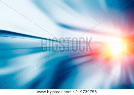 Hight accelerate speed fast perform moving business background concept