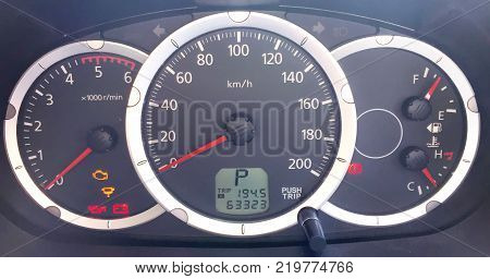 Ready to Go Speedometer inside the Car