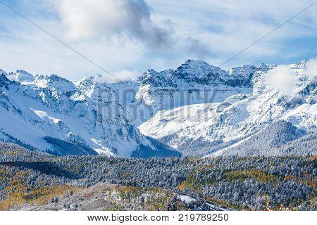 The San Juan Mountains - Colorado Rocky Mountain Scenic Beauty