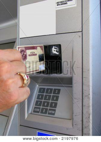 Credit Debit Card Payment Slot