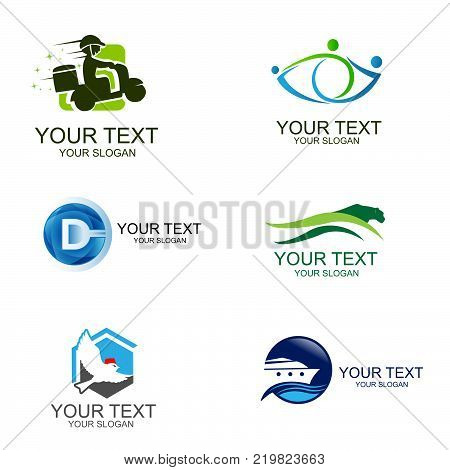 Business Corporate Logo Set Business Logo Design. Corporate Logo Design. Creative Business Vector Icons collection