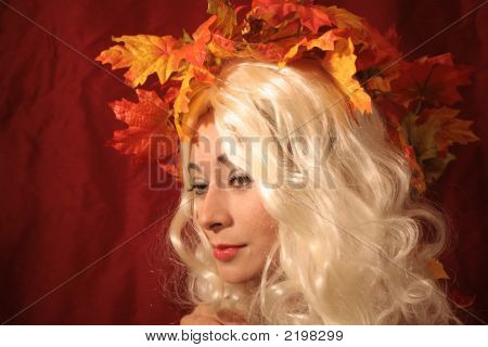 Blonde Mother Nature And Seasons