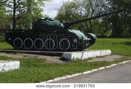 Russian retro tanks from second world war