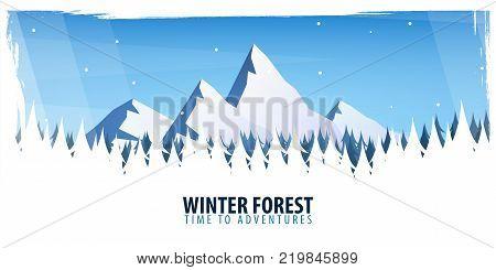 Vector Illustration Of Climbing, Trekking, Hiking, Mountaineering. Extreme Sports, Outdoor Recreatio