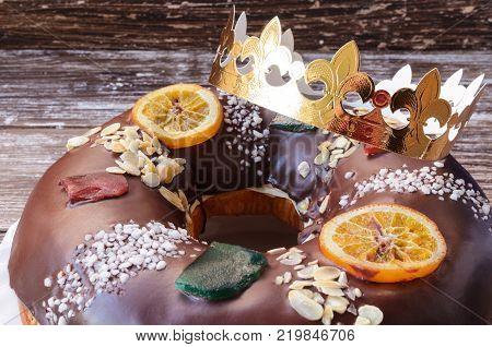 Roscon De Reyes Background