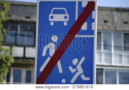 children crossing the street in a school zone road signs and road