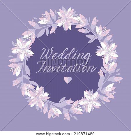 Concept abstract floral pattern. Tender flower banner, card, poster for surface design, wedding invitation. Spring sakura cherry blossom.